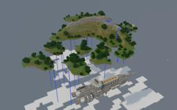 Project Nemesis - Floating islands of Auropa Minecraft