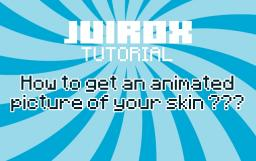TUTORIAL - How to get an animated picture  ??? Minecraft