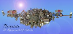 Rotastein- The Flying Capital of industry- With Download Minecraft Map & Project