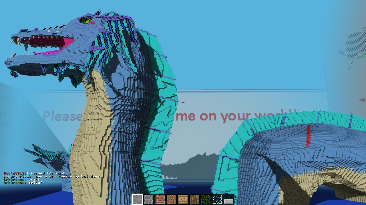 Sea Serpent Contest Build Minecraft Project