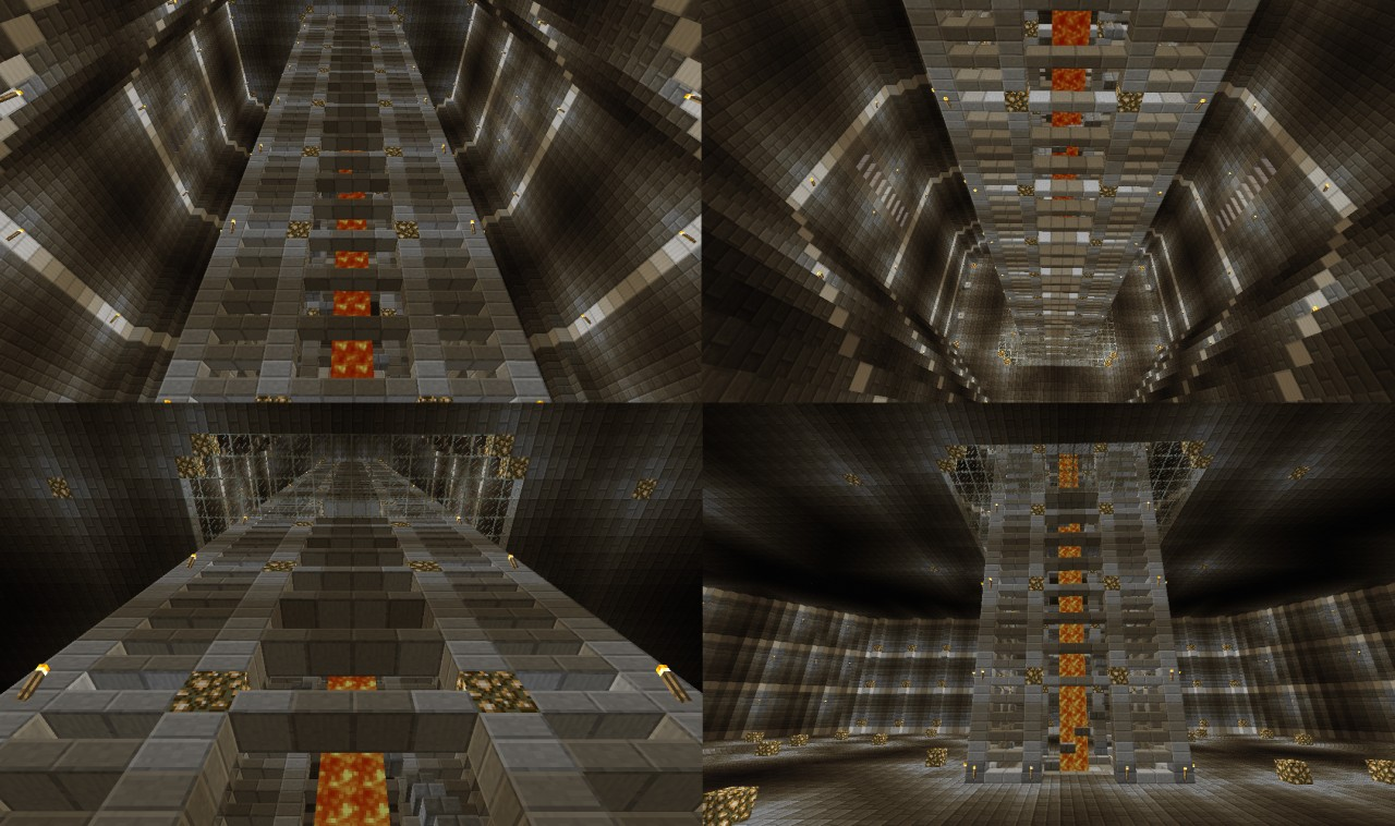 Minecraft Castle Staircase : Stairway castle minecraft project