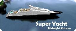 Super Yacht - Midnight Princess (6 NEW COLORS + SCHEMATICS) Minecraft Project