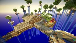 Minecraft SkyBlock Water Land Minecraft Map & Project