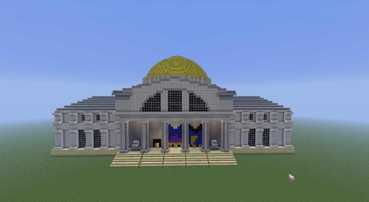 Natural History Museum For A Modern City Minecraft Project
