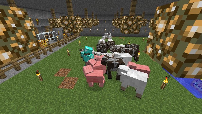 lagerdude tending his farms