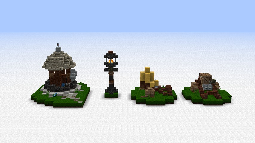 how to build a well in minecraft