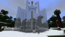 Survive In Style: No.1 - The Ice Fortress Minecraft Map & Project