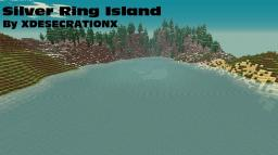Silver Ring Island (Custom Terrain) Minecraft Map & Project