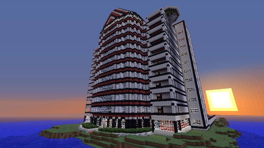 Kozume Hotel Minecraft Project
