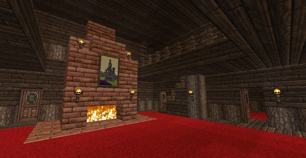 Chicken Helper Mansion Minecraft Project