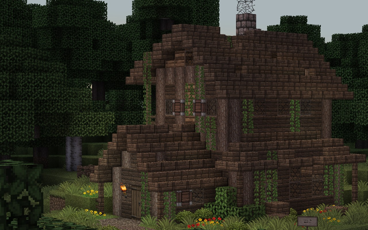 Medieval forest house minecraft project for Project house
