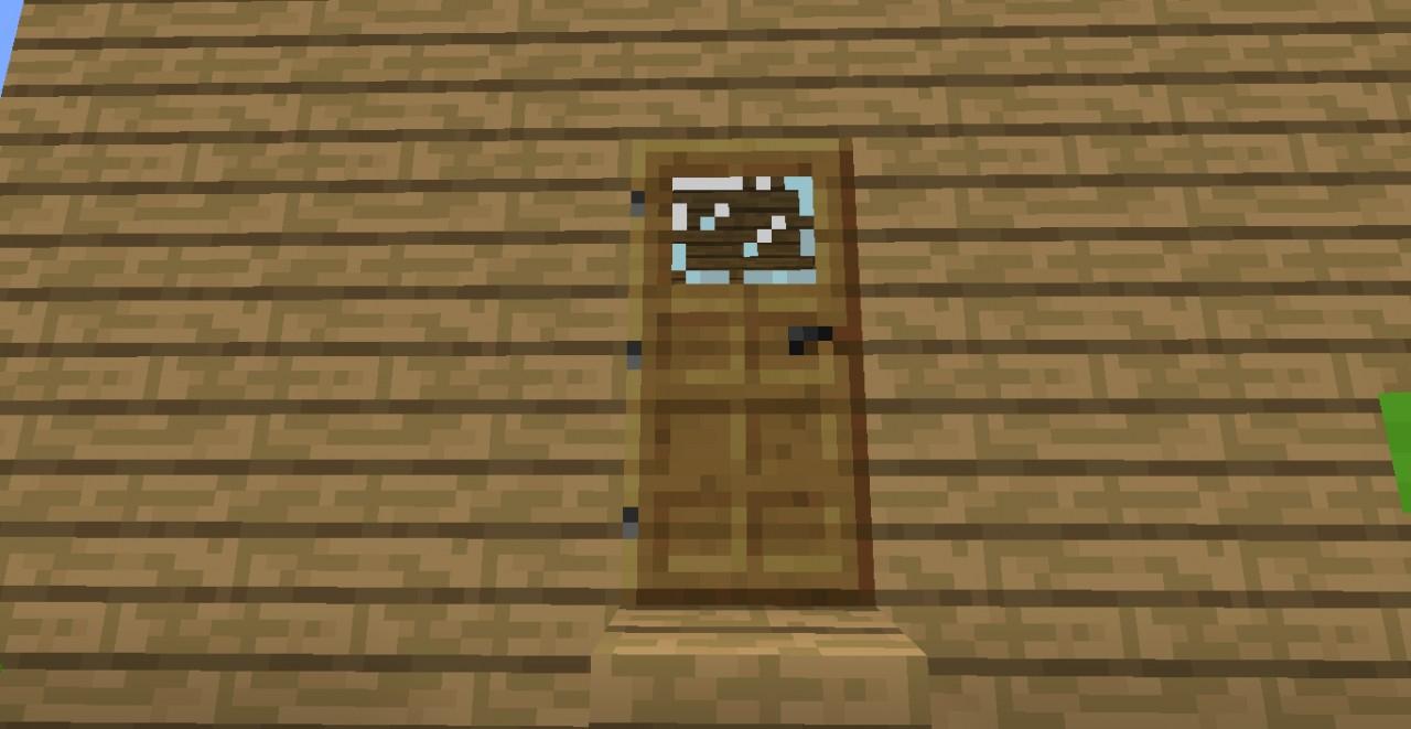 Minecraft Oak Door : Chocolate craft not realy minecraft texture pack