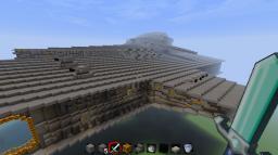 Harrower Class Dreadnaught Minecraft Map & Project