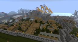 Kingdom of Braylinhall (Ugocraft Town, Castle, and Harbor) Minecraft Project