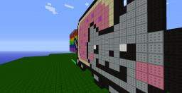 Moving Nyan Cat Minecraft Project