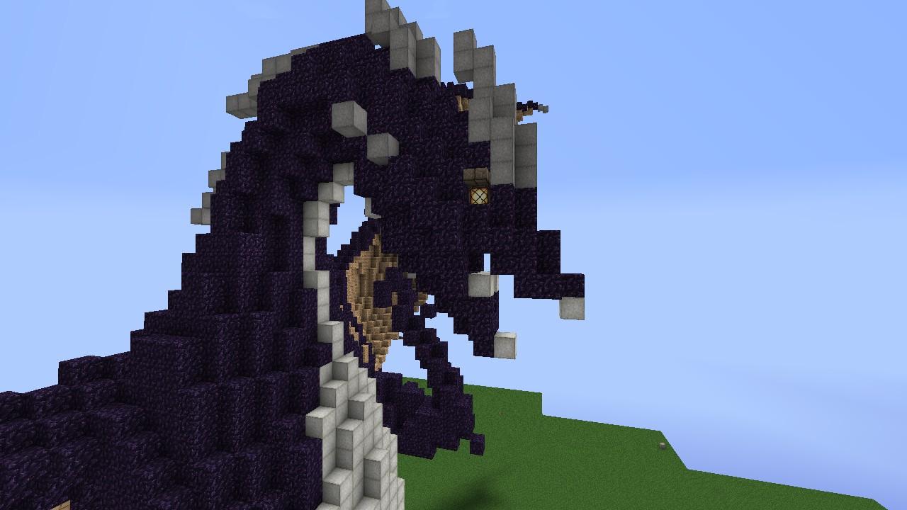 Dragon Statue [Schematic Download] Minecraft Project