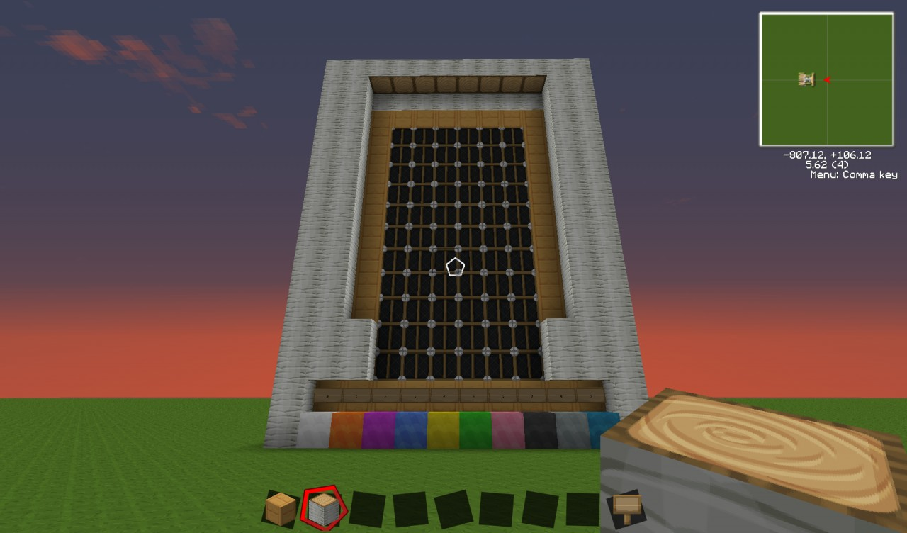 Re Visit To My Old Light Display Minecraft Project