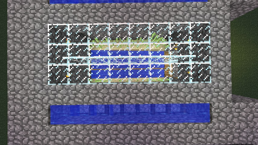 how to build an automatic sugarcane farm in minecraft