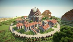 Amazing Spawn Town Minecraft Project