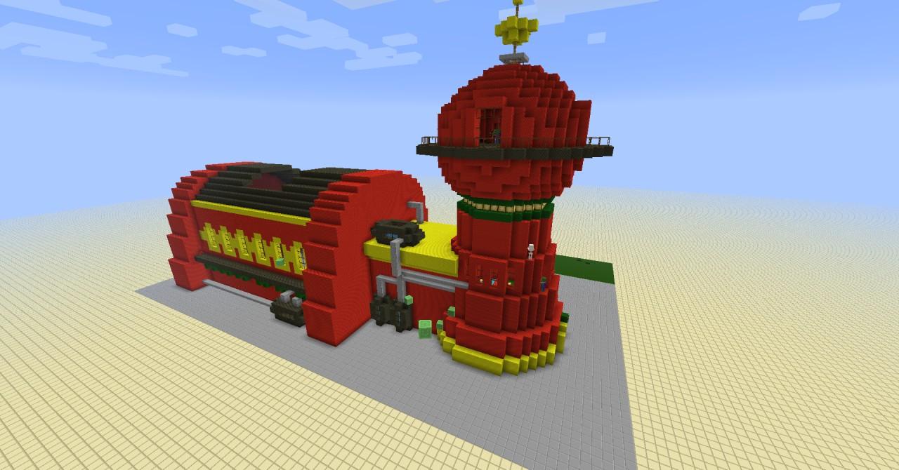 Planet express building 11 planet express building futurama 11