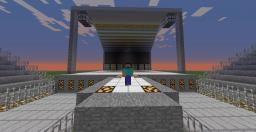 Creeper Amphitheatre - Large stage and over 20 rows of seats! Minecraft Map & Project