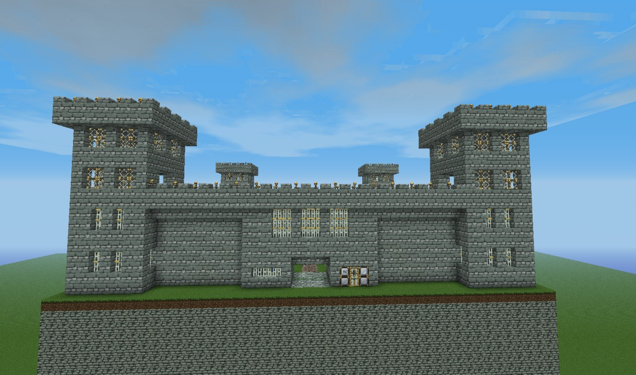 how to build a fort in minecraft