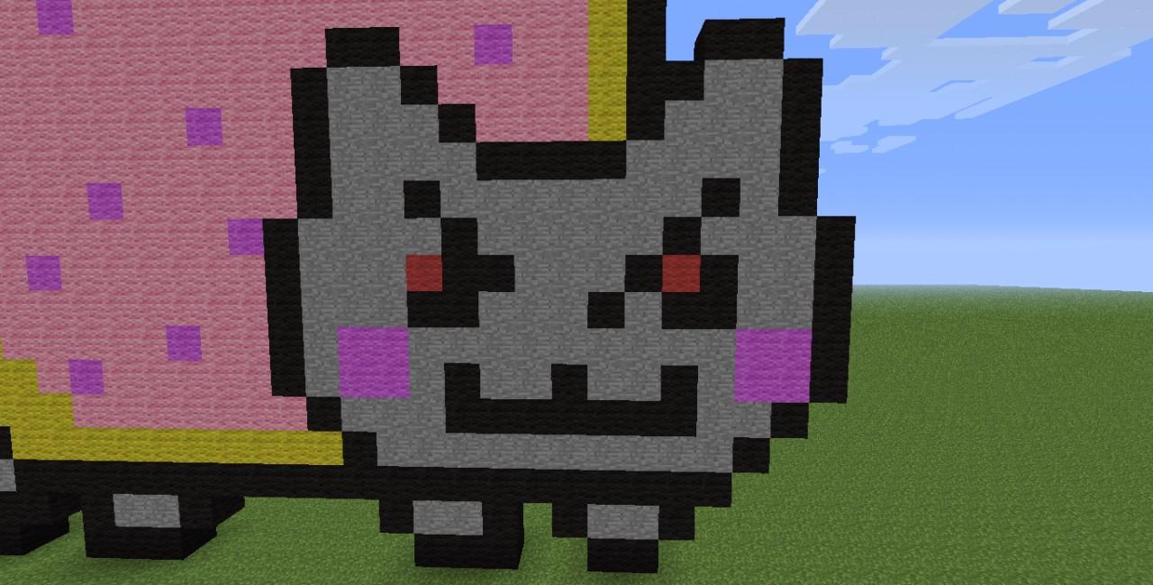 EVIL Nyan Cat Minecraft Project Evil Nyan Cat Minecraft Grid