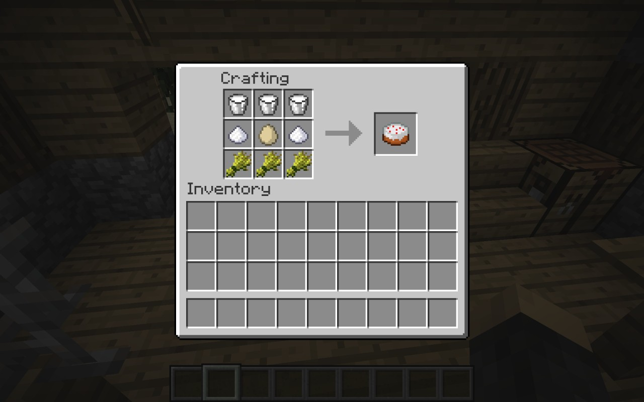 Minecraft How To Make Cake Machine