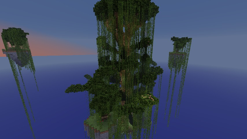 Ultimate Tree Survival Minecraft Project