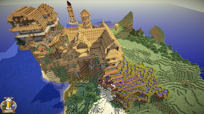 дома и замки в minecraft