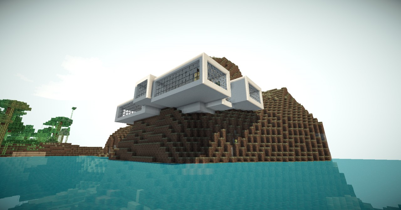 Minecraft Modern House 3 Minecraft Project