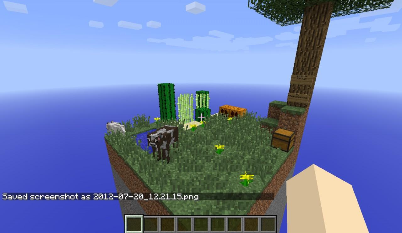 4 pillars minecraft map