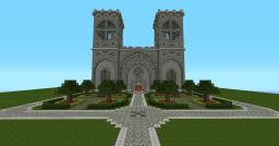 Notre dame de Minecraft Minecraft Map & Project