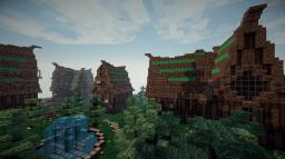 Northern Pines Village Minecraft Map & Project