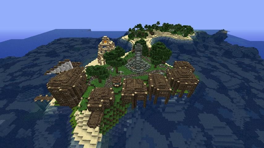 The Fishing Village of Kalamato - Read Desc - Minecraft ...