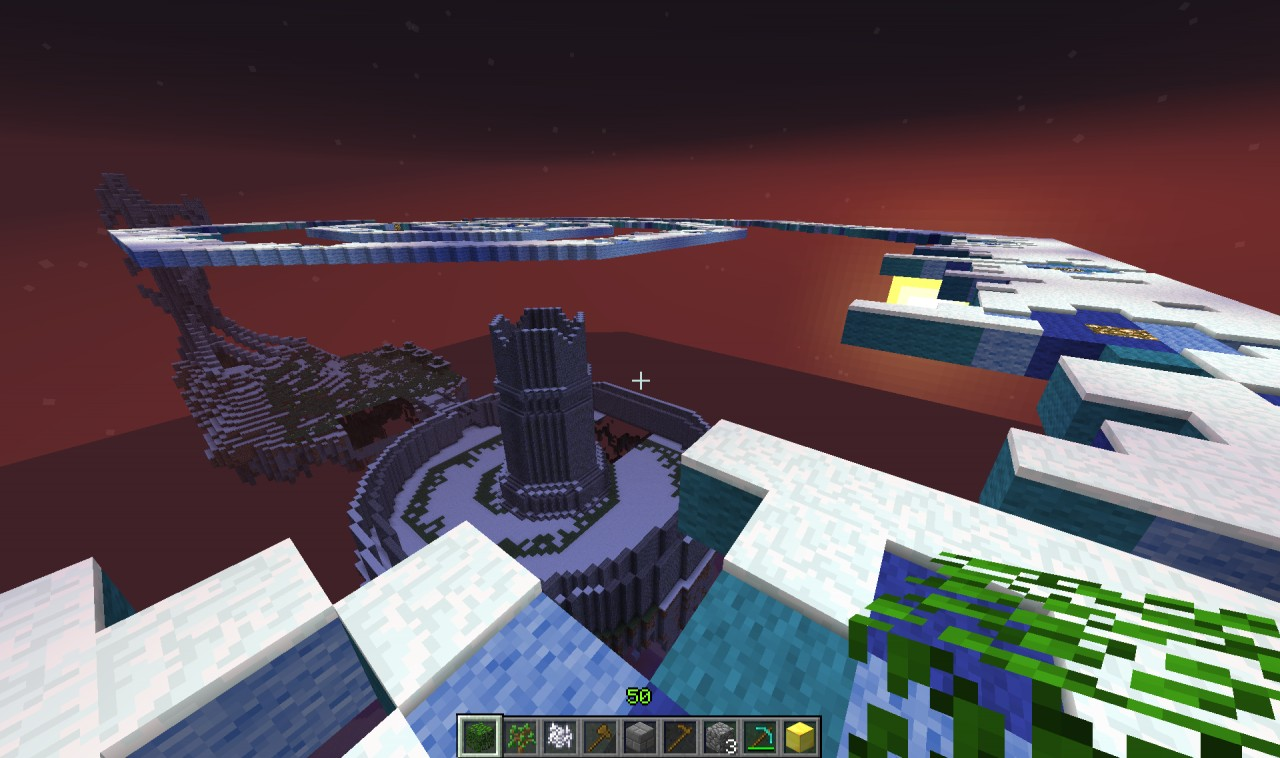 Evil fortress in progress Minecraft Project