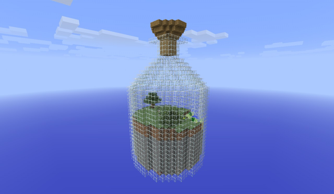 World in a Jar Survival Map Minecraft Project – Map World Jar