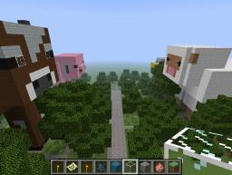 Want to live in a pig? Here's your chance! Minecraft Map & Project