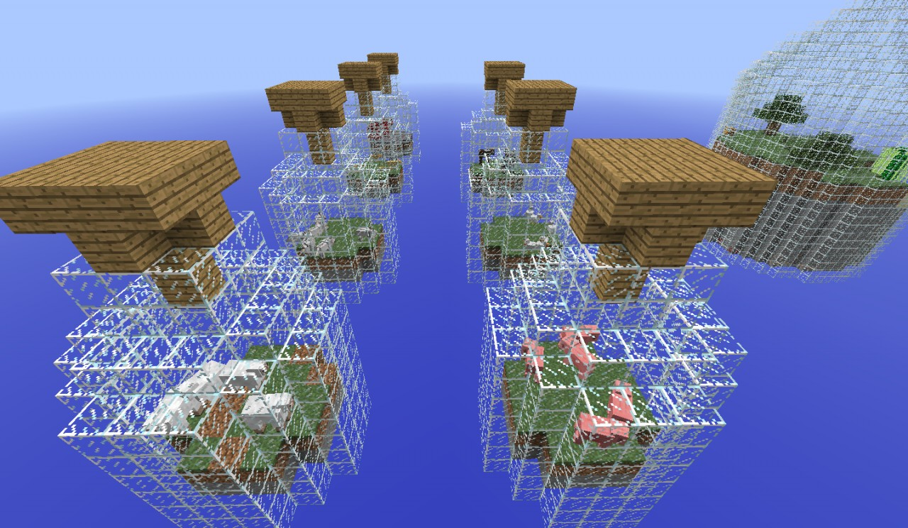 World in a Jar Survival Map Minecraft Project – Map World Minecraft