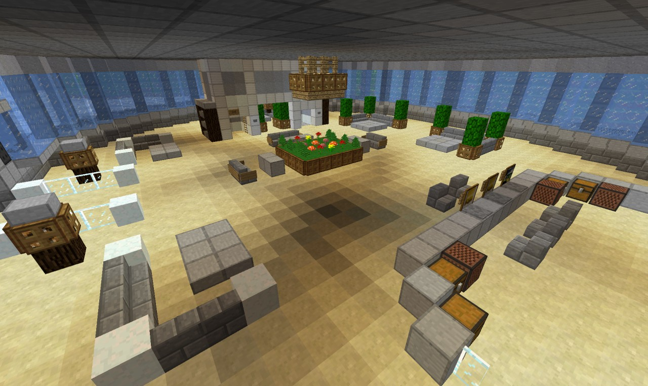 how to build a office in minecraft