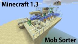 Mob Sorting in Minecraft 1.3 Minecraft Map & Project