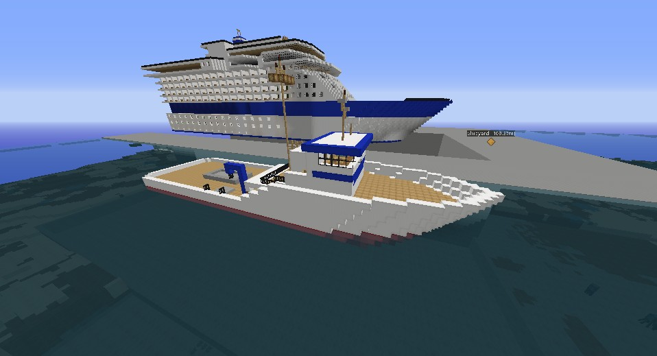 Fishing Vessel based off Northwestern Minecraft Project