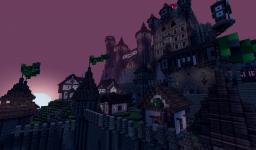 Mountain Castle & Village Minecraft Project