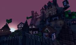 Mountain Castle & Village Minecraft