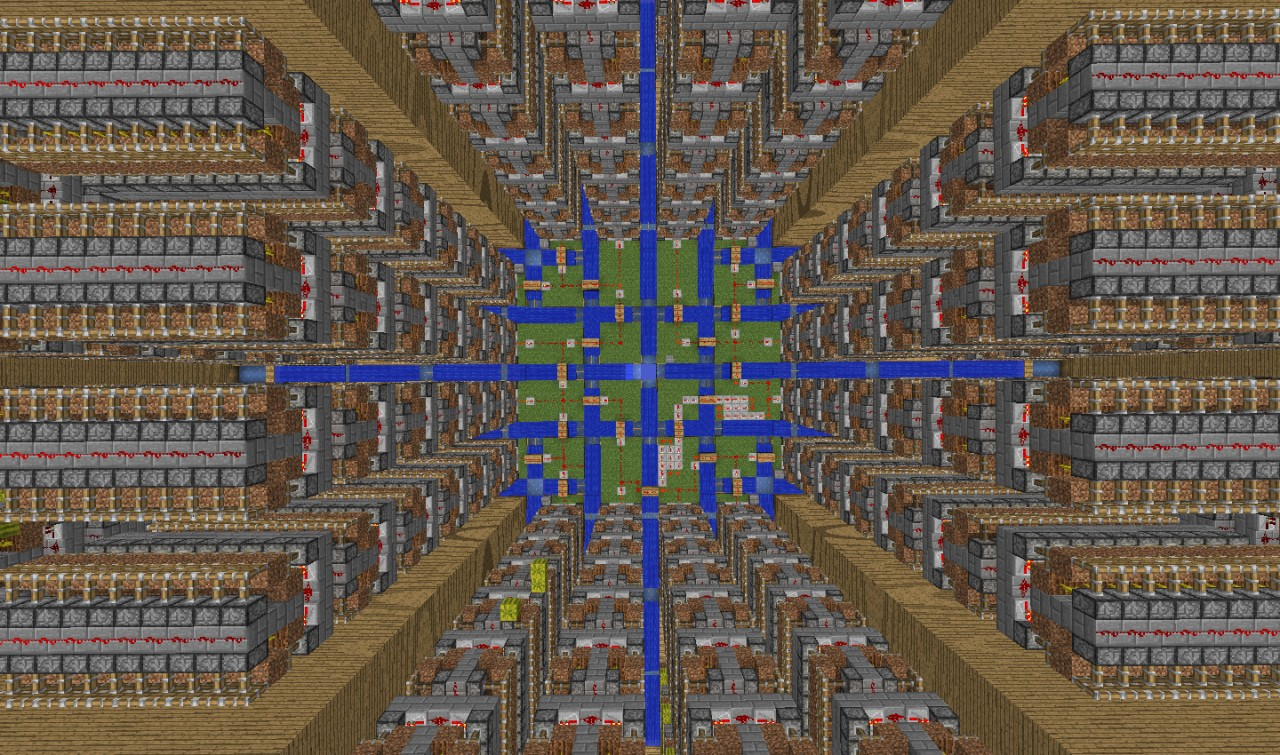 Melon Farm Designs Minecraft Project