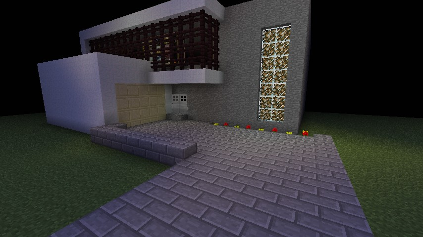 Modern house trap minecraft project for Modern trap