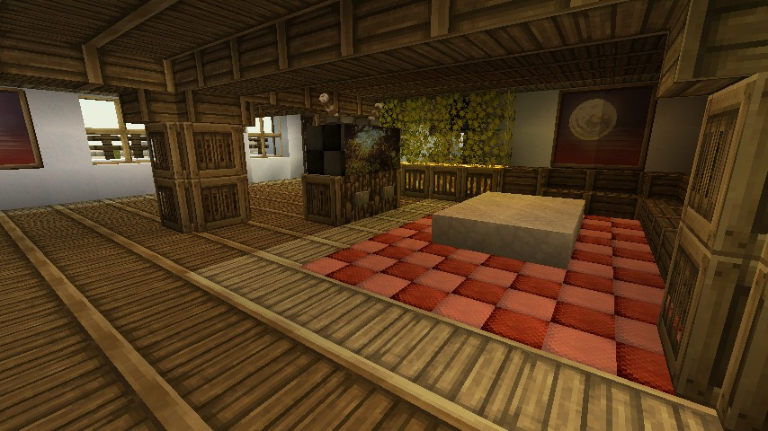 Fr en modern mexican villa new furniture minecraft project for Minecraft how to build a modern living room