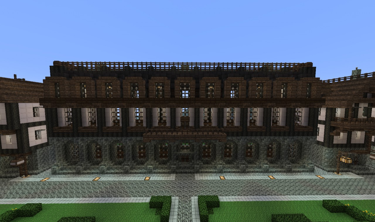 Medieval Apartment Building Minecraft Project