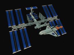 ISS - International Space Station & Space Shuttle Minecraft Project