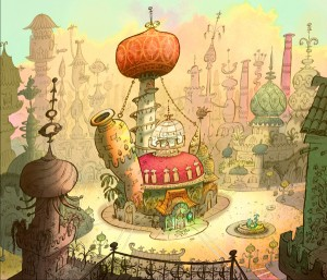 chowder marzipan city minecraft project